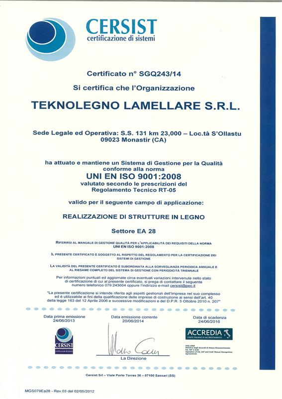 CERTIFICATO-TEKNOLEGNO-LAMELLARE-SRL